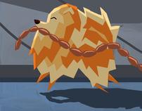 """""""Pomeranian"""" Illustrations"""