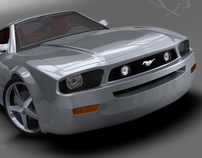 Mustang HatchBack - Automotive Design