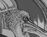 New illustration; A Pelican