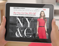 New York & Co. Concept Site
