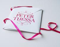 Wedding Invitation - Peter & Thessa