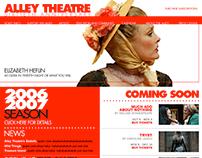 Alley Theatre Web Site