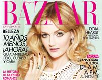 Lydia Hearst for Harper's BAZAAR en Español