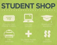 Student Shop Poster