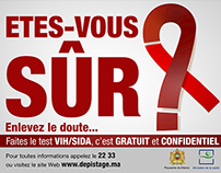 AIDS Testing Campaign | Moroccan Ministry of Health