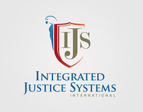 Integrated Justice Systems International - Logo Design