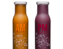 AM/PM Bottle Packaging