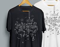 T-Shirt for Kontur.Elba team