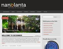NaNoLanta Website & Branding