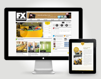 FX Magazine Website & Ipad