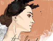 Digital Portrait - The Black Swan