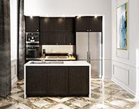 Kitchen in Classic Interior
