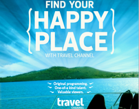 "NTCA AD - ""Find your happy place with Travel Channel"""