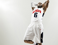 USA National Team uniforms and typography