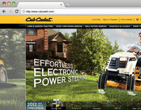 Cub Cadet Website Design