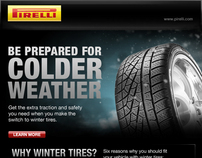 Pirelli North America digital marketing