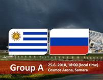 Soi kèo Urugoay và Nga (UruguayvsRussia) World Cup 208