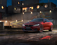 BMW M4 (Coupe) | CGI | Key Visual