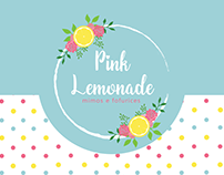 Pink Lemonade: Design concept and logo