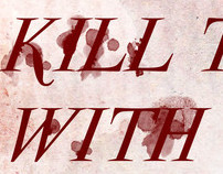 Blood Typography Experimental