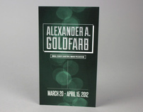 Alexander A. Goldfarb Exhibition Postcard