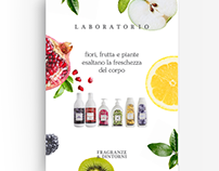 Laboratory of flowers, fruits and freshness.