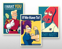 Futurama Posters