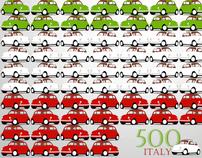 Seleção Fiat 500 & IdeaFixa