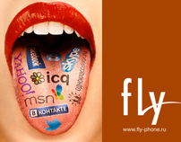Fly. The new tongue of communication.