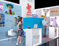 Exhibition stand for Wizart & Melnica