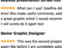 Sweet client feedback