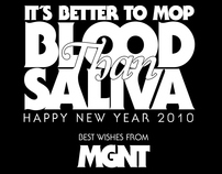 2010: BLOOD than SALIVA
