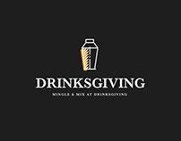 2016 Drinksgiving Project Identity Design