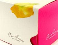 Embalagens de Macarron Paris Sweets