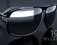 Polaroid 'Villainess' Sunglasses