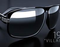Polaroid 'Villainess' Sunglasses