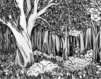 Backgrounds for my 6. Manga-book in Germany