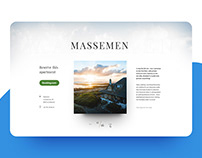 Eye-catching landing page for a coastal vacation home