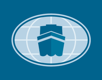 Global Maritime, logo design