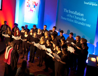 Installation of Chancellor University of Southampton