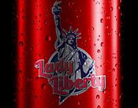 Lady Liberty Logo/Typography
