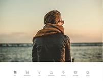 Spark WordPress Theme -Home Portfolio live demo