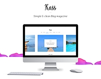 Kass - Blog & Magazine Template