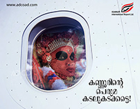 Kannur Airport Social posters