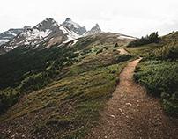 parker ridge hike series - banff, alberta