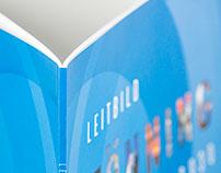 Klebegebundene Broschüre