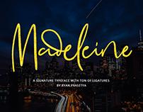 Madeleine (Free Signature Font)