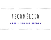 CRM - Social Media - Sistema Fecomércio