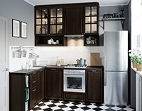 Visualization of kitchens for IKEA catalogs.