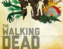 Minimalist The Walking Dead Posters